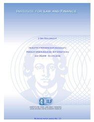 jörg vollbrecht investmentmodernisierungsgesetz - Institute For Law ...