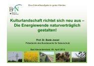 Die Energiewende naturverträglich gestalten! - Bund Naturschutz in ...
