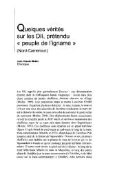 peuple de l'igname - Horizon documentation-IRD