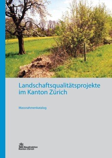 Massnahmenkatalog (PDF, 11 Seiten, 343 kB) - Amt für Landschaft ...