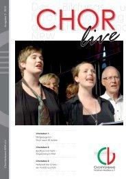 CHOR LIVE 03_2013-2.indd - ChorVerband NRW eV