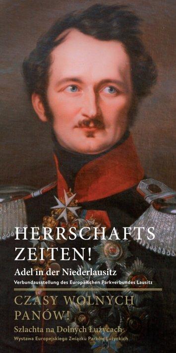 HERRSCHAFTSZEITEN! Adel in der Niederlausitz - Fürst-Pückler ...
