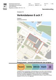 Planbeskrivning - Eskilstuna