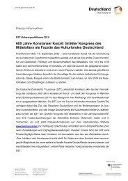Konstanzer Konzil Vertriebs- und Marketingaktivitäten ... - Germany