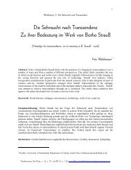 01_Wefelmeyer_-_Botho_Strauss.pdf - USP