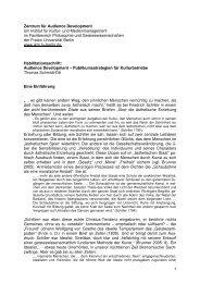 Einleitung Habilitation TSO - Fachbereich Philosophie und ...