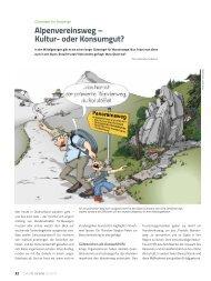 Panorama 2 2013 Bergsport heute - Deutscher Alpenverein