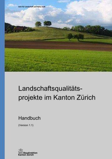 Handbuch (PDF, 35 Seiten, 2 MB) - Amt für Landschaft und Natur
