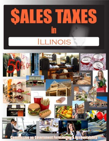 May 2010 Sales Taxes in Illinois - Illinois General Assembly