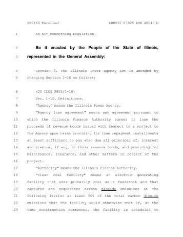 Letter_Bill 1..57 - Illinois General Assembly