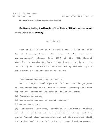 Public Act 96-39 - Illinois General Assembly