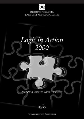 2000 - The Institute for Logic, Language and Computation ...