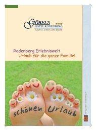Rodenberg Erlebniswelt - Urlaub für die ganze Familie - Göbel Hotels