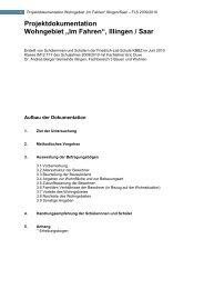 10-07-08 Doku gekürzt, FLS, Auswertung Untersuchung ... - Illingen.de