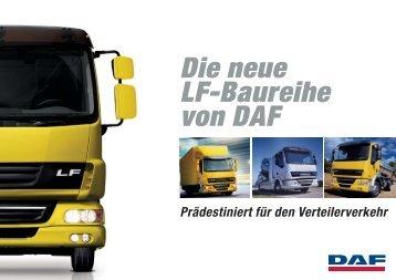 Die neue Lf-Baureihe von DAF