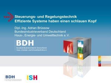 und Regelungstechnik Effiziente Systeme haben einen ... - BDH