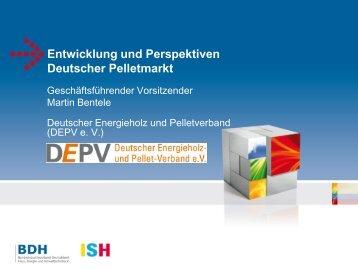 Chancen und Perspektiven für das Heizen mit ... - ISH 2013 - BDH