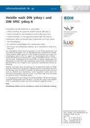 Heizöle nach DIN 51603-1 und DIN SPEC 51603-6 - BDH