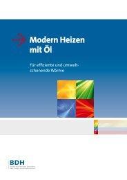 Modern Heizen mit Öl - BDH