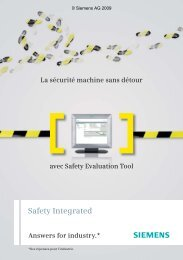 Safety Integrated - Siemens