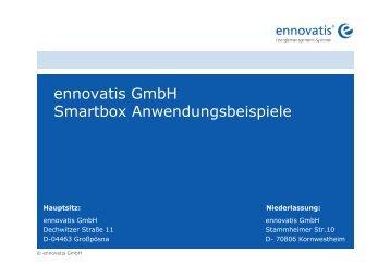 ennovatis GmbH Smartbox Anwendungsbeispiele