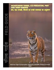 FIELD GUIDE Monitoring Tigers, Co-Predators, Prey and their Habitats