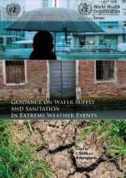 Guidance on Water Supply and Sanitation In Extreme ... - UNECE