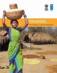 PAHARIAS - India Environment Portal