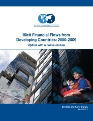 Illicit Financial Flows from Developing Countries 2000 – 2009 - India ...