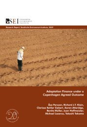 Adaptation Finance under a Copenhagen Agreed Outcome - India ...