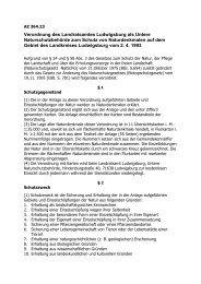 Verordnung des Landratsamtes Ludwigsburg als Untere ... - Ditzingen