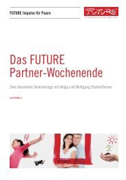 Das FUTURE Partner-Wochenende