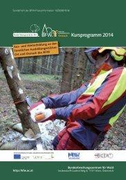 Kursprogramm 2014 - BFW