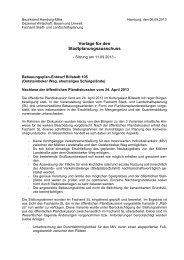 Vorlage für den Stadtplanungsausschuss - Hamburg-Mitte-Dokumente