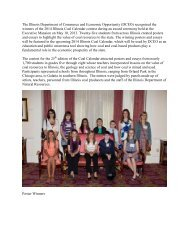 Coal Essay and Poster Contest Winners Reception - Illinois ...