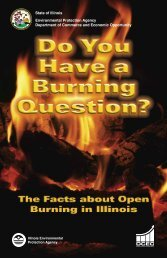 Open Burning Brochure - Illinois Environmental Protection Agency