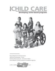Starting a Center-based Child Care Program Introduction - Illinois ...