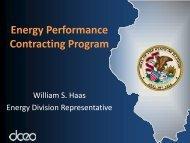 Energy Performance Contracting Program - Illinois Department of ...