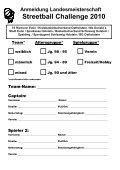 Anmeldung Landesmeisterschaft Streetball Challenge 2010 - Seite 3