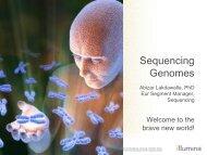 Clinical sequencing - Illumina
