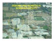 GENOME AND BIOMEDICAL SCIENCES FACILITY - Illumina