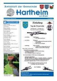 Gemeindeblatt 2013 KW40 - Gemeinde Hartheim