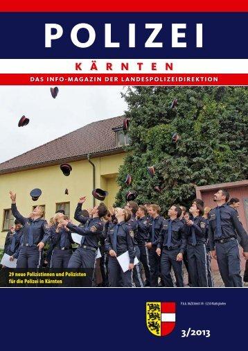 Ausgabe 3/2013 - Polizei © Polizei