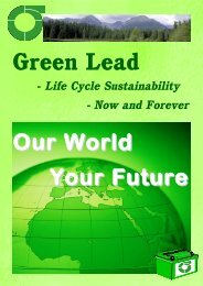 Green Lead Brochure 2007 - the International Lead Management ...
