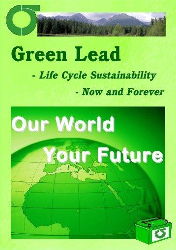Green Lead Brochure 2007 - the International Lead Management ...