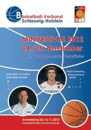 Schleswig-Holstein asketball-Verband B