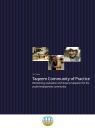 Taqeem Community of Practice - International Labour Organization