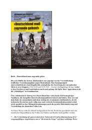 Alliierte Vernichtungspläne gegen Deutschland - deutschelobby