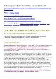NSU = tiefer Staat - WordPress.com