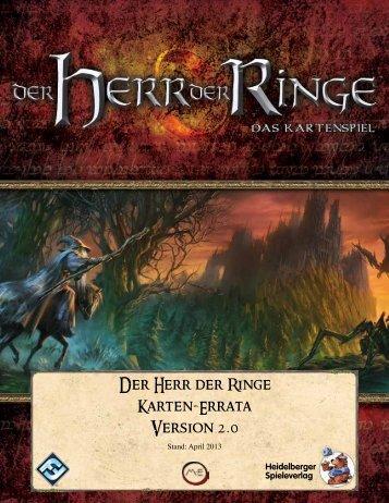 Der Herr der Ringe LCG - Heidelberger Spieleverlag